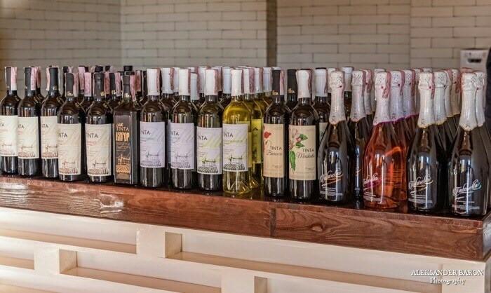 winehall brand story Oksamytne village